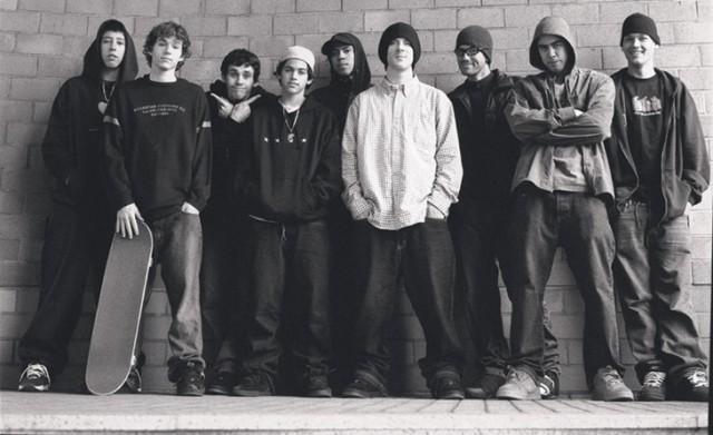 90年代のスケートボーダー達