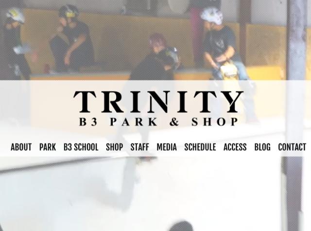 室内スケボースポット TRINITY B3 PARK