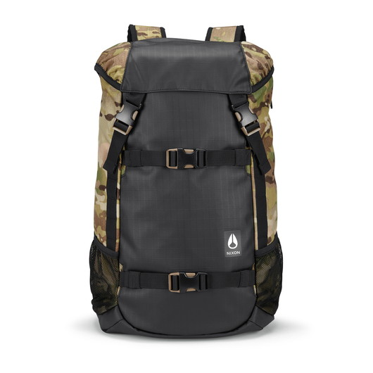 スケボーリュック NIXON(ニクソン) LANDLOCK III BACKPACK NC2813 MULTICAM 表