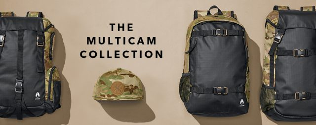スケボーリュック NIXON(ニクソン) LANDLOCK III BACKPACK NC2813 MULTICAM