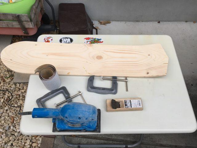 手作りスケボーDIY道具
