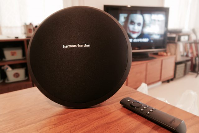 harman/kardonのBluetoothスピーカー「Onyx Studio」と「Fire TV Stick」をペアリング