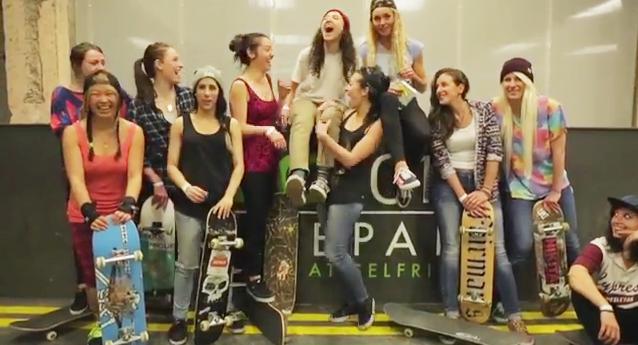 男子禁制!女性のみのスケートセッション