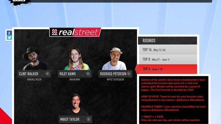 【あなたもXゲームに参加できる】ビデオコンテスト「Real Street 2014」ファイナルラウンド