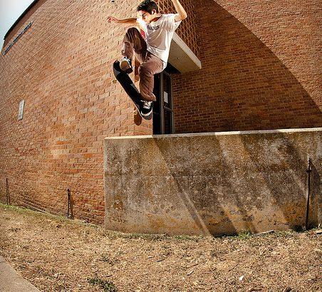 スケボートリック:ハードフリップの練習方法