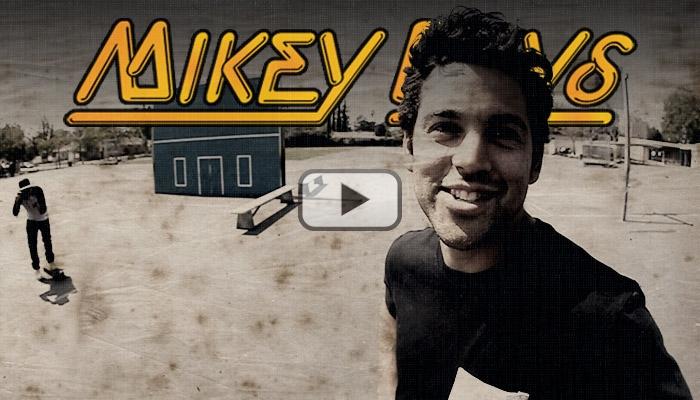 """マイキー・テイラー、ポール・ロドリゲスの""""プリミティブ・スケートボーディング""""のデッキを試乗"""