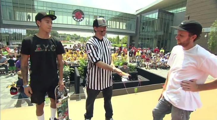 モンスターエナジープレンツ「Game of Skate」セミファイナル
