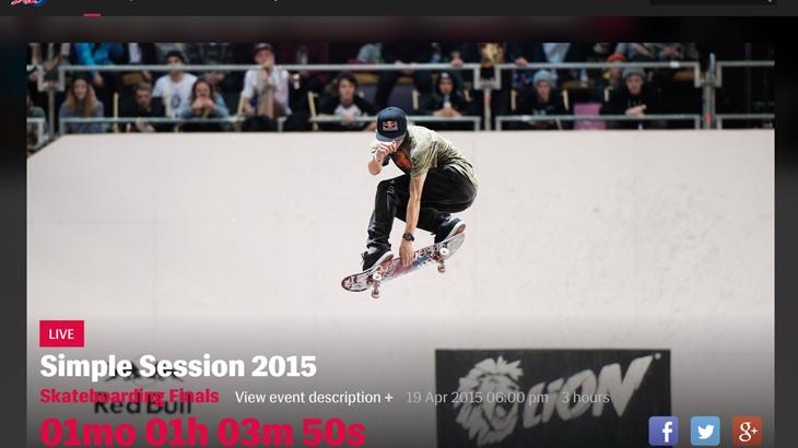【瀬尻稜◆今年も決勝戦へ!】国際的スケボーコンテストSIMPLE SESSION 2015