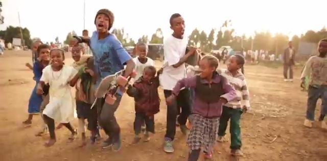 【子供達の笑顔速報】途上国エチオピアのスケートシーン