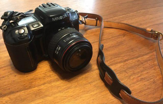「MINOLTA α 707si」108円で買ったフィルムカメラをDIY修理して試し撮り