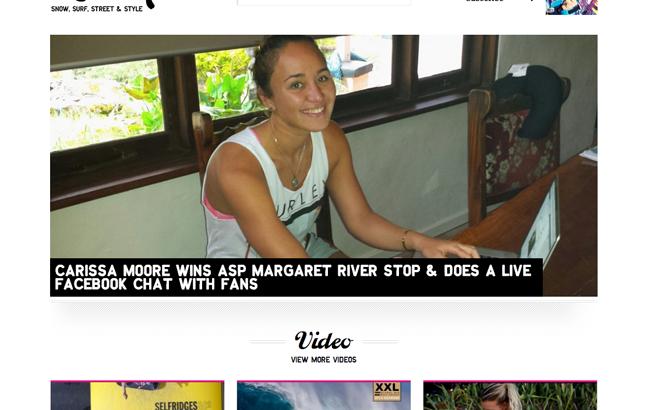 女性の為のXスポーツ&ライフスタイルWebマガジン