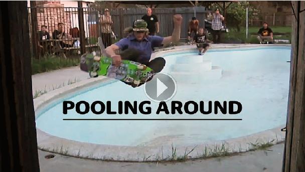 ランス・マウンテン、ウィリス・キンベルらのビデオモンタージュ「Pooling Around」