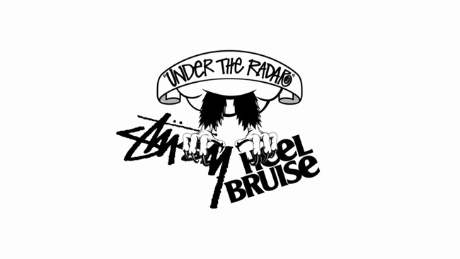 "Stussy x Heel Bruise ""Under the Radar"" ジャパンツワー"