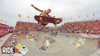 バンズのボウルコンテスト「Vans Doren Invitational 2014」決勝のハイライト映像