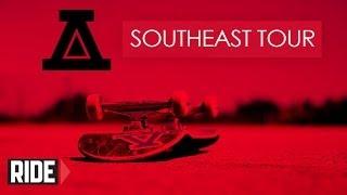 ナイジャ・ヒューストン達のツワービデオ「AYC X Zumiez BFF Tour」