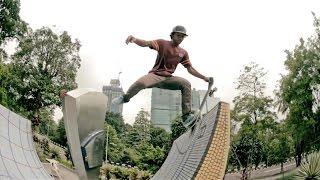 レッドブルプレゼンツ赤道地域を巡るスケートトリップシリーズ「EP2クアランプール」