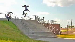 「マイヤー・スケート・クルー」3分56秒のノンストップトリック集