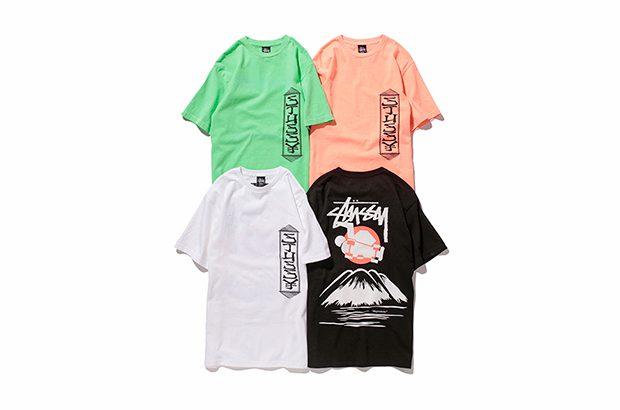 ステューシー×Sasquatchfabrix.の日本限定コラボTシャツ