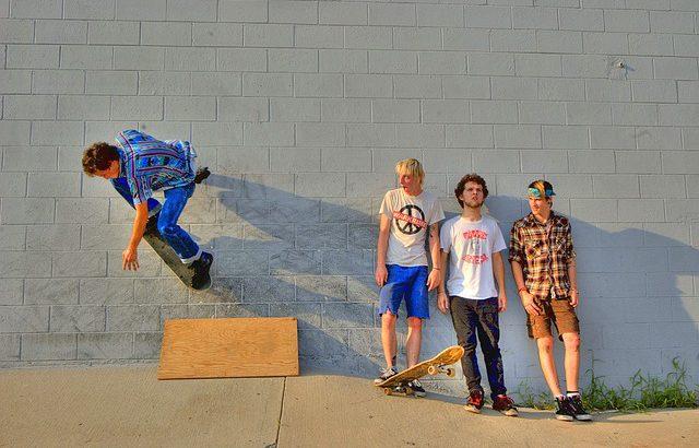 スケートボードはスケーターの想像力次第でもっと×2楽しくなる!
