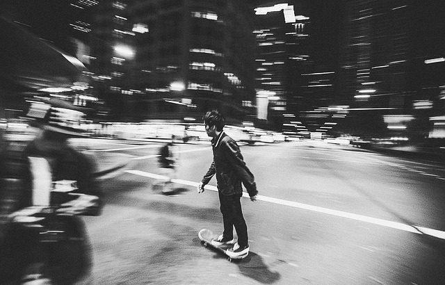 Ready Skater Four「増殖しては分裂するスケートコミュニティ」【闇夜に暗躍する若者たち〜青年編『前編』〜】