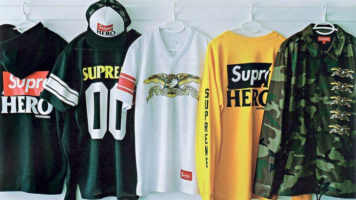 【豪華コラボ】2大スケボーファッションブランド「シュプリーム×アンチヒーロー」カプセルコレクション